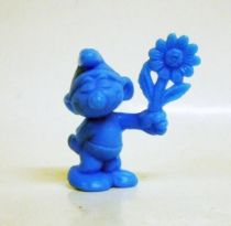The Smurfs - Premium Figure OMO - Smurf with flower