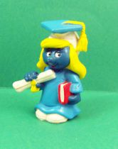The Smurfs - Schleich -  20151 Graduation Smurfette (W.Berrie.Co)