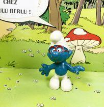 The Smurfs - Schleich - 20006 Brainy Smurf (red glasses)