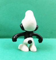 The Smurfs - Schleich - 20007 Black Smurf (Made in Portugal)