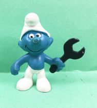 The Smurfs - Schleich - 20012 Mechanic Smurf