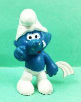 The Smurfs - Schleich - 20018 Sad Smurf (white handkershief)