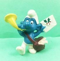 The Smurfs - Schleich - 20031 Postman Smurf (greeting letter)
