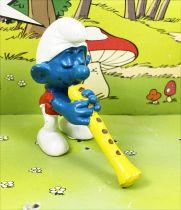 The Smurfs - Schleich - 20048 Flutist Smurf