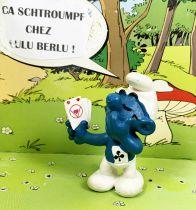 The Smurfs - Schleich - 20056 Cards player Smurf (ASS advertising)