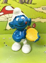 The Smurfs - Schleich - 20080 Smurf with tart
