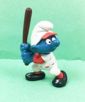 The Smurfs - Schleich - 20129 Baseballer Smurf (number 3)