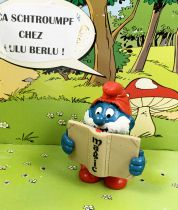The Smurfs - Schleich - 20174 Papa Smurf with magical book (marked edge)