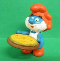 The Smurfs - Schleich - 20180 Pizza PaPa Smurf