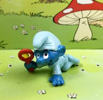 The Smurfs - Schleich - 20203 Blue crawling Baby Smurf