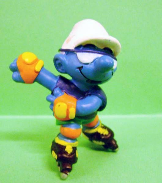 The Smurfs - Schleich - 20442 Roller Blade Smurf