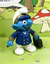 The Smurfs - Schleich - 20470 Flight captain Smurf