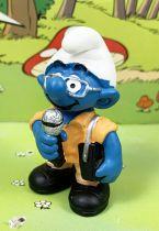 The Smurfs - Schleich - 20478  Reporter Smurf