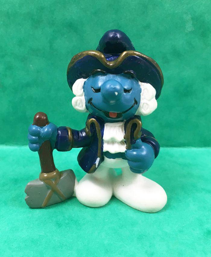 The Smurfs - Schleich - 20505 George Washington Smurf
