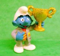 The Smurfs - Schleich - 20532 Football President Smurf