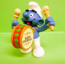 The Smurfs - Schleich - 20707 50th anniversary series Smurf with Drum