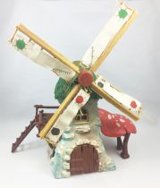 The Smurfs - Schleich - 40020 Smurf Mechanical Windmill (Loose)