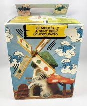The Smurfs - Schleich - 40020 Smurf Mechanical Windmill (with Box)