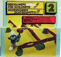 The Smurfs - Schleich - 40040  Fences - Accessories n°2 (Mint in Box)