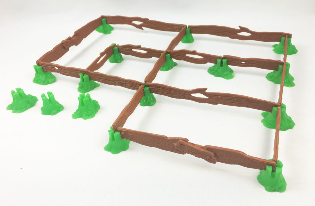 The Smurfs - Schleich - 40040 Fences Accessories n°2 (loose)