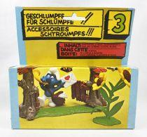 The Smurfs - Schleich - 40050 Smurf\'s Gate - Super Playset N°3 (Mint in Box)