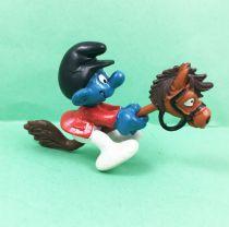 The Smurfs - Schleich - 40214 Smurf on Hobby Horse