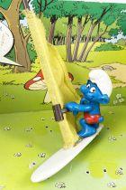 The Smurfs - Schleich - 40215 Winsurfer Smurf