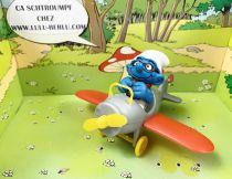 The Smurfs - Schleich - 40224 Smurf in plane