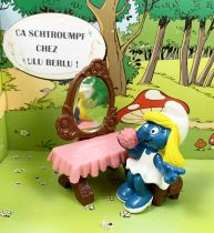 The Smurfs - Schleich - 40234 Smurfette with vanity table