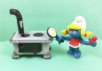The Smurfs - Schleich - 40238 Smurfette with Kitchen
