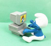 The Smurfs - Schleich - 40249 Smurf with computer