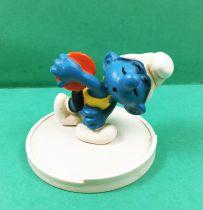The Smurfs - Schleich - 40503 Smurf disc thrower