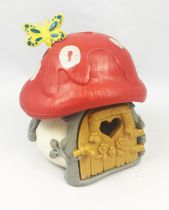 The Smurfs - Schleich 40011 Smurf Little House with Red Roof (loose)