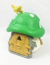 The Smurfs - Schleich 40012 Smurf Little House with Green Roof (loose)