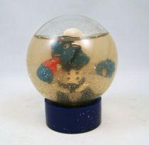 The Smurfs - Snow Globe - Policeman Smurf