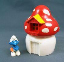 Les Schtroumpfs Maxi Kinder - Ferrero - La Maison de Schtroumpf 01