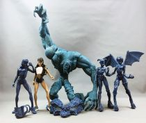 The Tenth - ReSaurus Action Figures (Test Shot / No Prototype) - Esperanza, Mystacina, Adrenalynn & Lastic