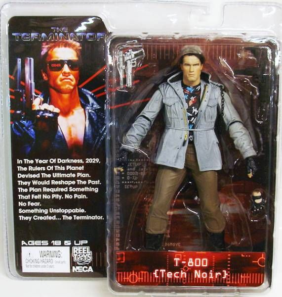 "NECA TERMINATOR ULTIMATE T-800 Tech Noir 7/"" Action Figure"