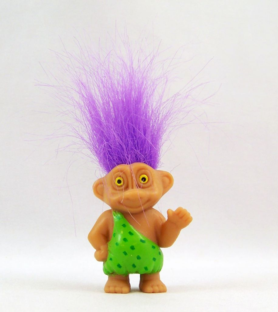 The Trolls - Soma PVC Figure 1992 - Caveman Troll