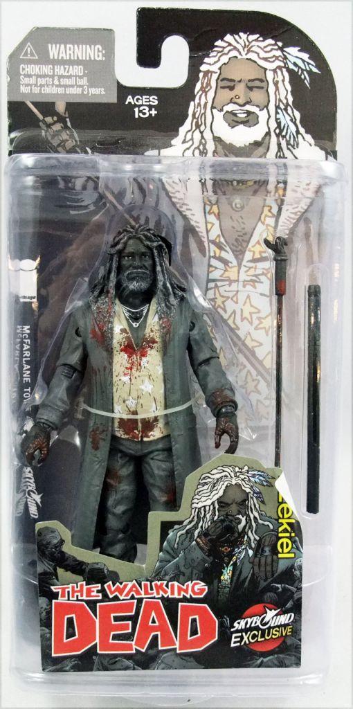 "The Walking Dead (Comic Book) - Ezekiel \""Bloody B&W\"" (Skybound Exclusive))"