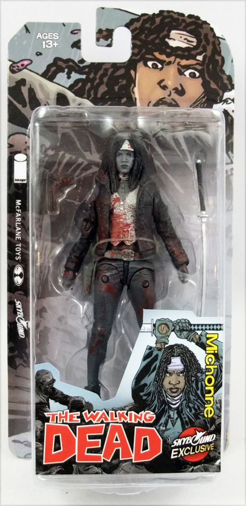"The Walking Dead (Comic Book) - Michonne ""Bloody B&W\"" (Skybound Exclusive)"