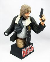"The Walking Dead (Comic Book) - Rick Grimes 9"" bust bank"