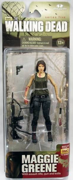 "Maggie Greene The Walking Dead TV Series 5 5/"" Action Figure MCFARLANE TOYS"