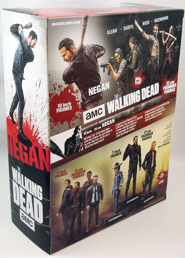 The Walking Dead (TV Series) - Negan (figurine Deluxe 25cm)