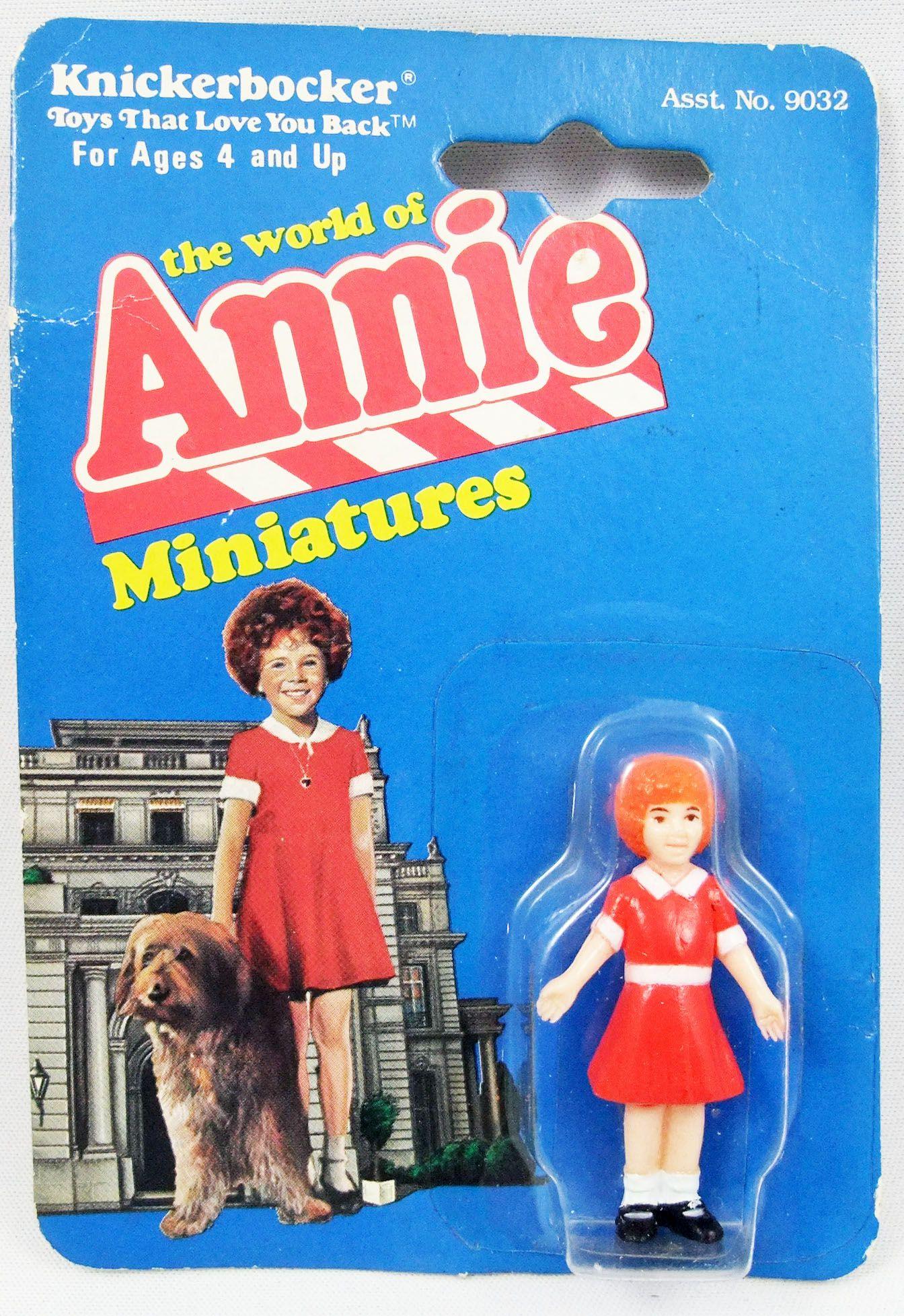 The World of Annie - Figurine miniature PVC - Annie - Knickerbocker