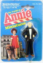 The World of Annie - Figurine miniature PVC - Daddy Warbucks - Knickerbocker