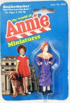 The World of Annie - Figurine miniature PVC - Lilly - Knickerbocker