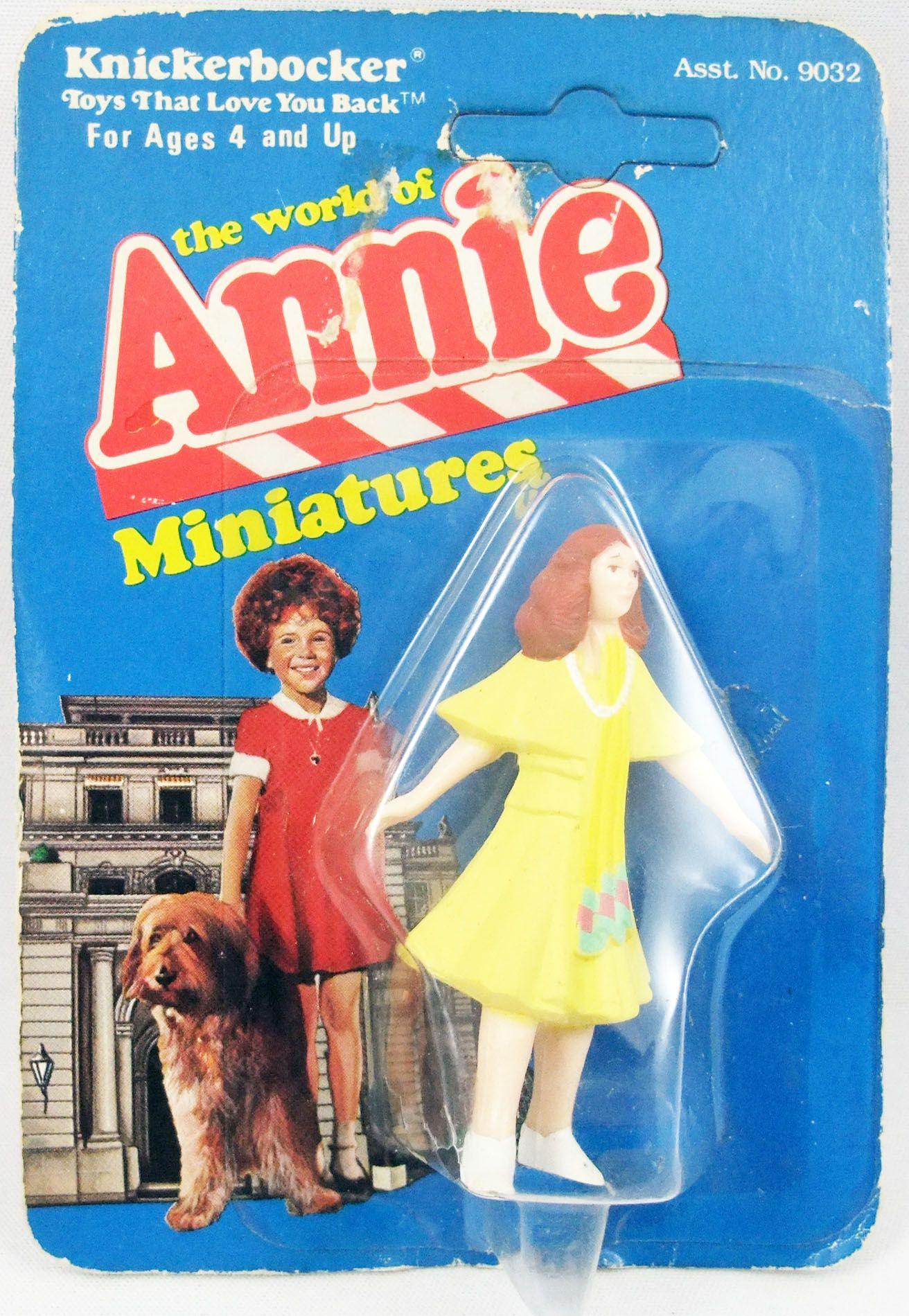 The World of Annie - Figurine miniature PVC - Miss Hannigan - Knickerbocker