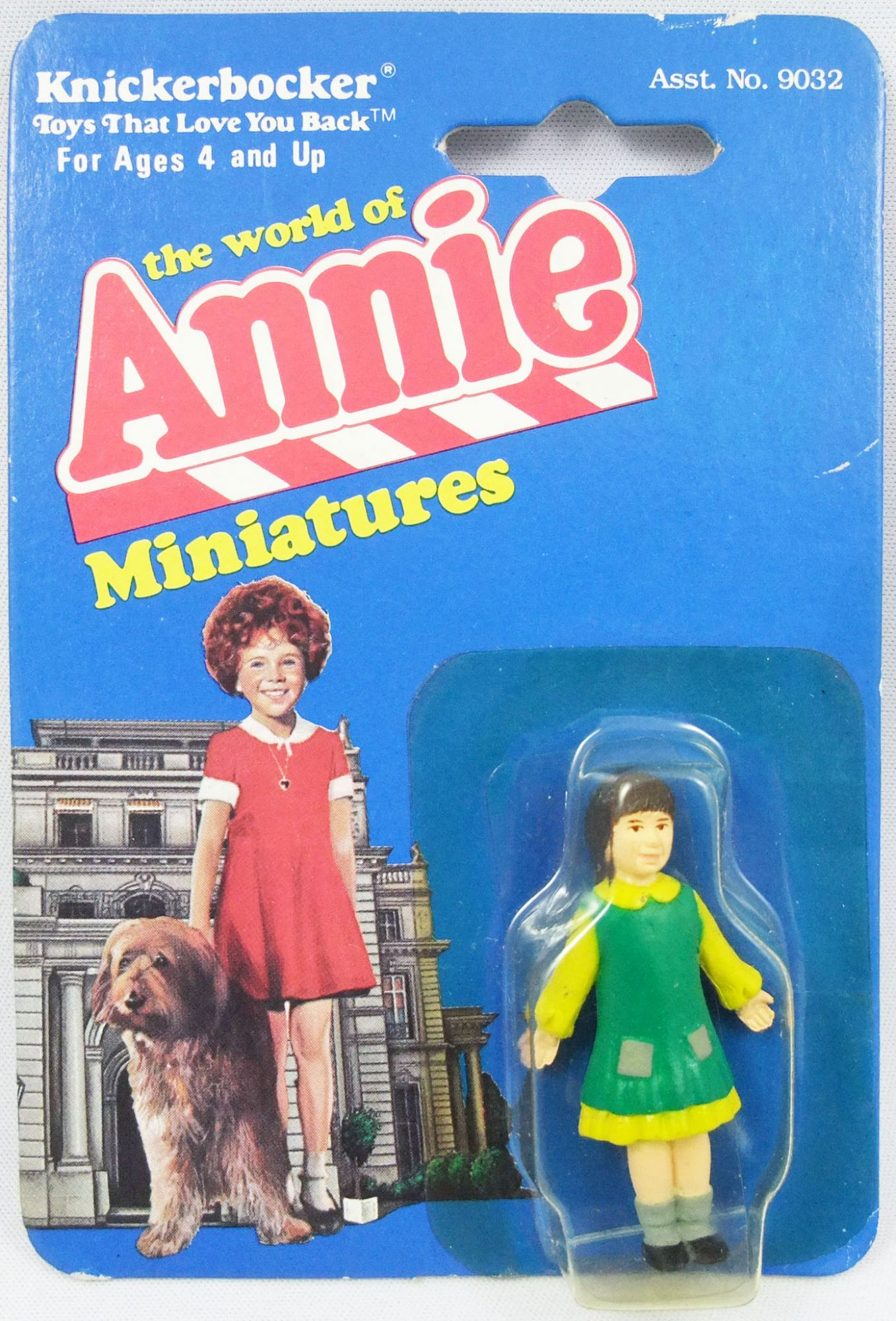 The World of Annie - Figurine miniature PVC - Molly - Knickerbocker
