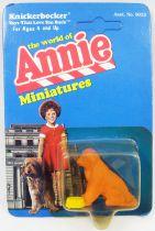 The World of Annie - Figurine miniature PVC - Sandy - Knickerbocker